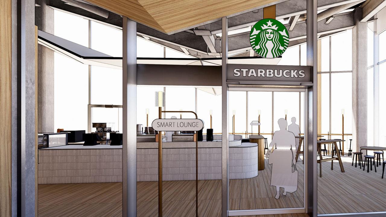 [GOURMET]スターバックスが新駅「高輪ゲートウェイ駅」に、新コンセプト店オープン
