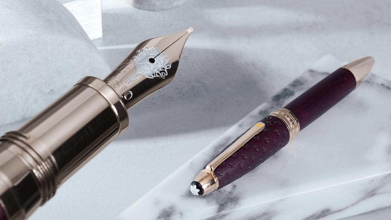 文学×筆記具!これぞ子供に引継ぎたい!名作「星の王子さま」をモチーフにしたモンブランの限定万年筆