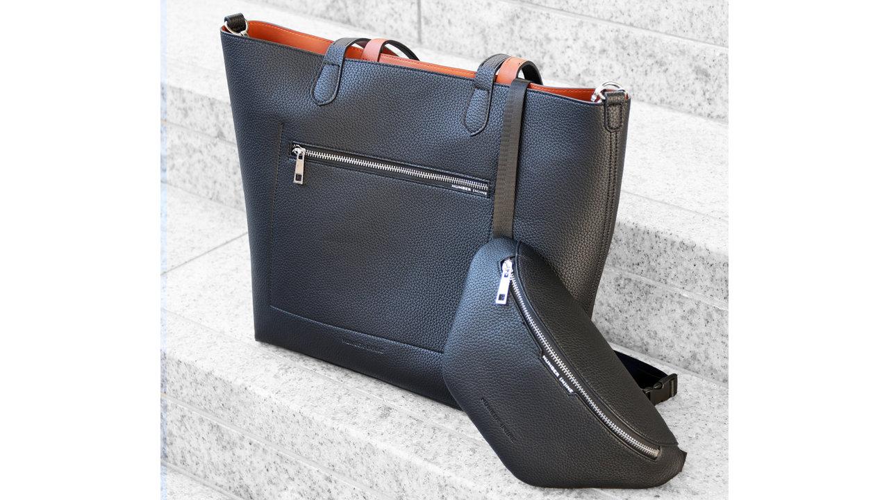 シンプルな色とデザインだから、外出自粛が解けた後もずっと使えるナンバーナインのバッグ