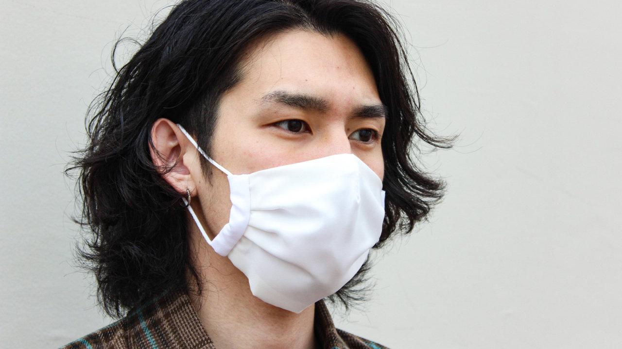 洗える!着物職人が作った肌に優しくて敏感肌に◎!超シンプルだからこそお洒落なシルク素材のマスク