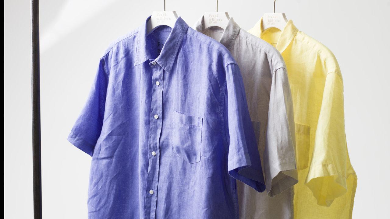 フランク&アイリーンから爽やか色の限定シャツ販売&Eコレクトスタート