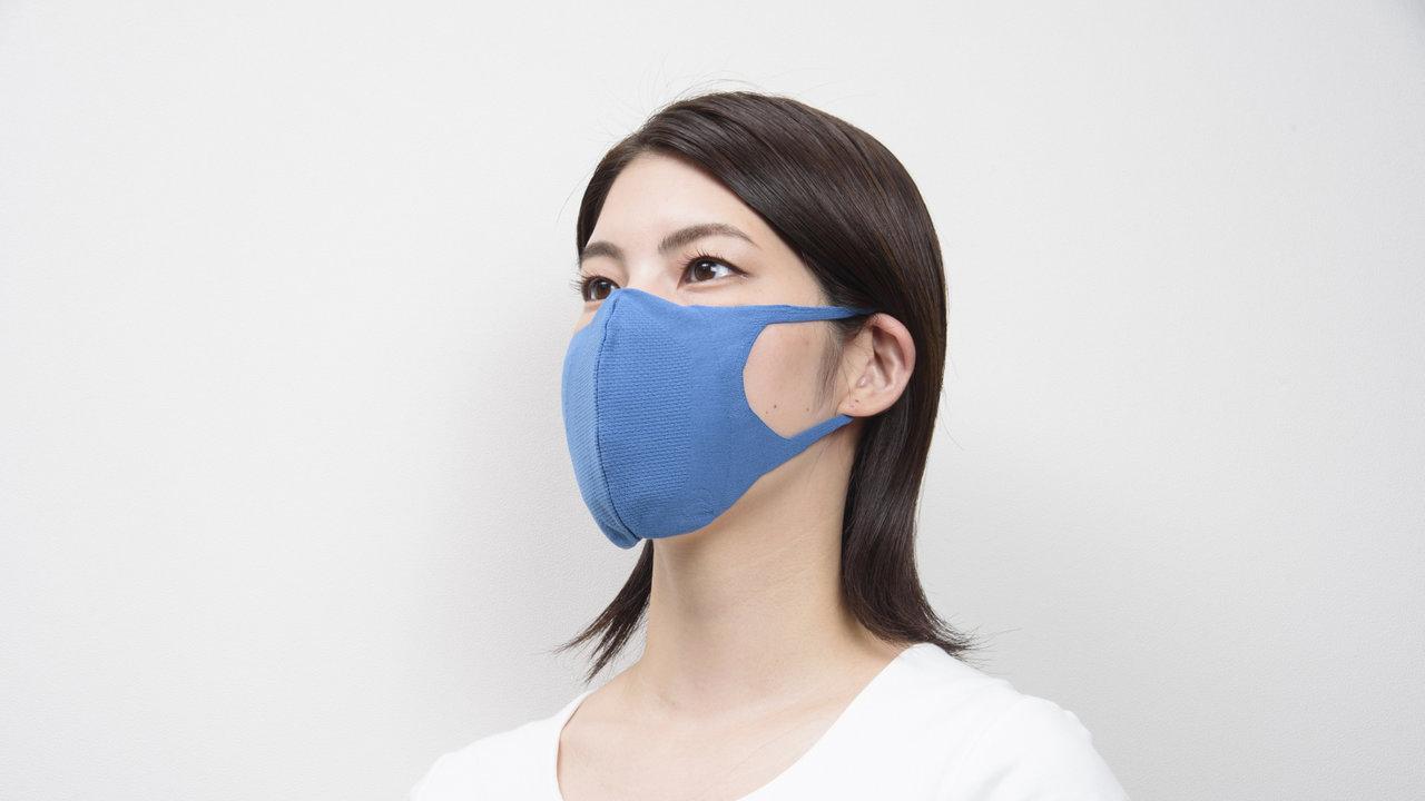 2420円の抗ウイルス機能付き3D構造マスクが登場。不織布マスクの2.5倍の通気性を実現!