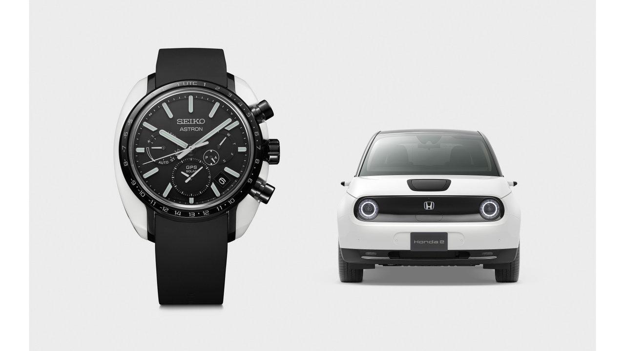 セイコーとホンダがコラボ!電気自動車のスマートデザイン×最新テクノロジーSUV時計