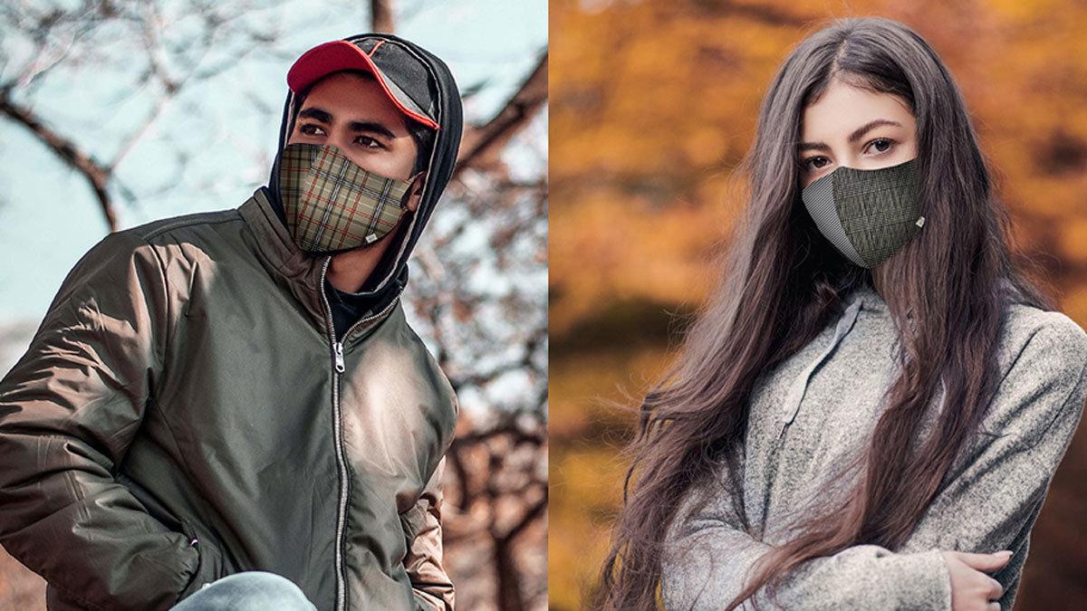 日本製大人気マスクに今秋流行のチェック柄が登場!お得な予約特典も