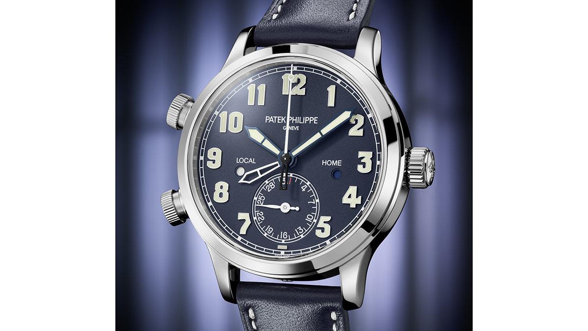 シンプルで格好いい!絶対的王者、パテックのサステナブルな新作パイロット時計