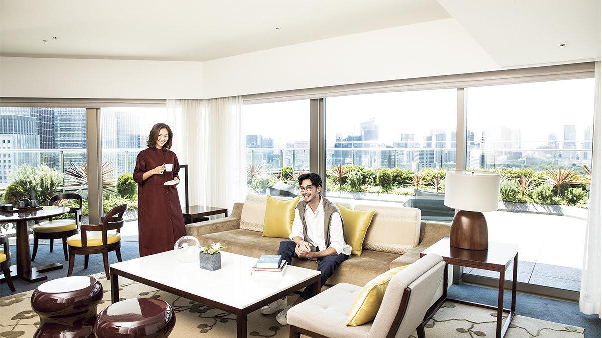 都心に広がる緑のオアシス!皇居外苑を一望できる「パレスホテル東京」