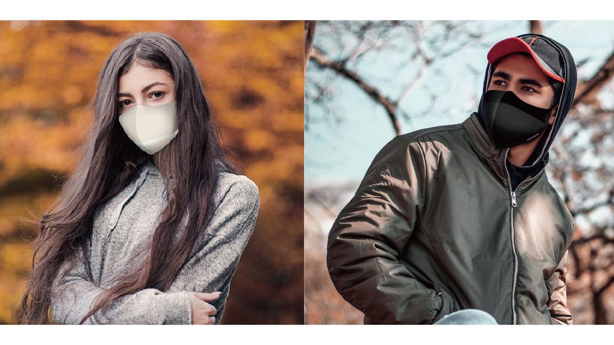 50回洗えて1枚980円。銀ナノ粒子で高い抗菌性と抗菌持続性のデザインマスク!