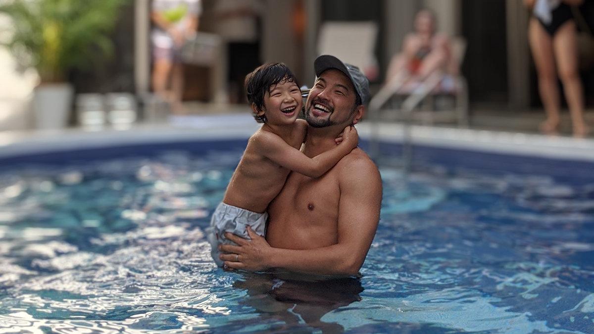 家族でサウナ連載第19回「夏が終わっても茅ヶ崎はサウナで暑い」