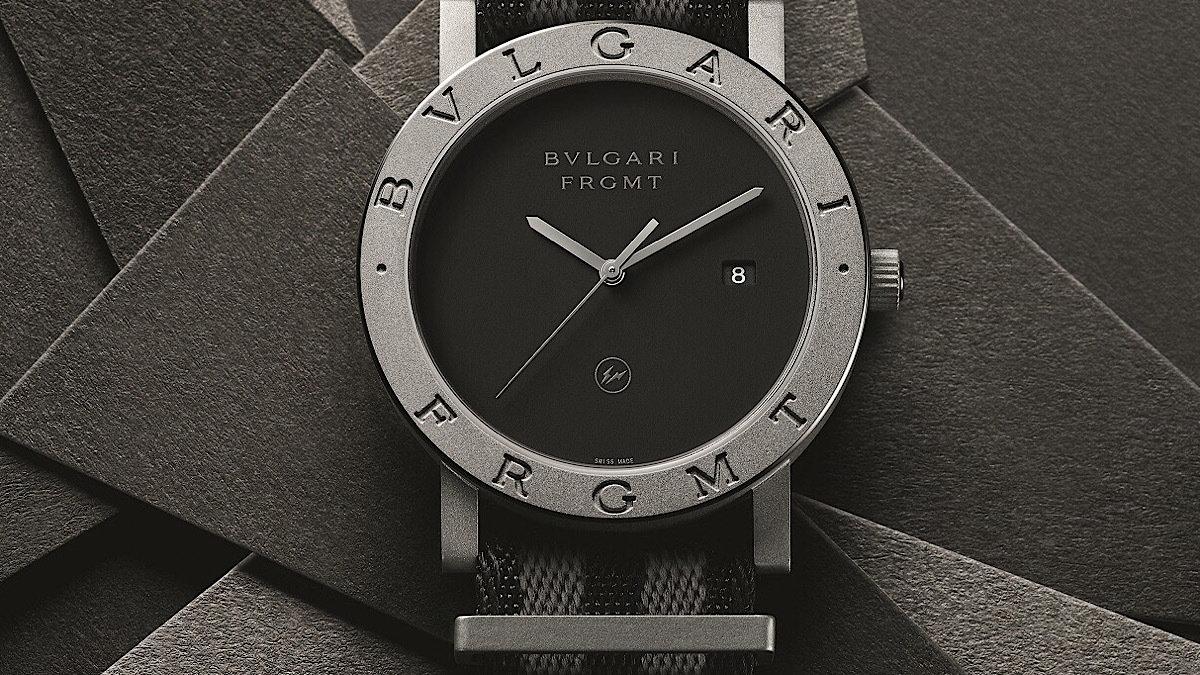 これは売り切れ必至!ブルガリの超定番時計を藤原ヒロシのストリート解釈でデザイン