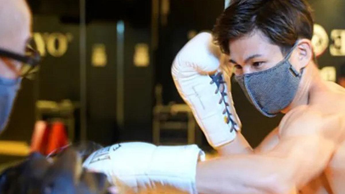 プロボクサーと共同開発!医療用包帯生地を使用したスポーツ用マスクが快適すぎる!