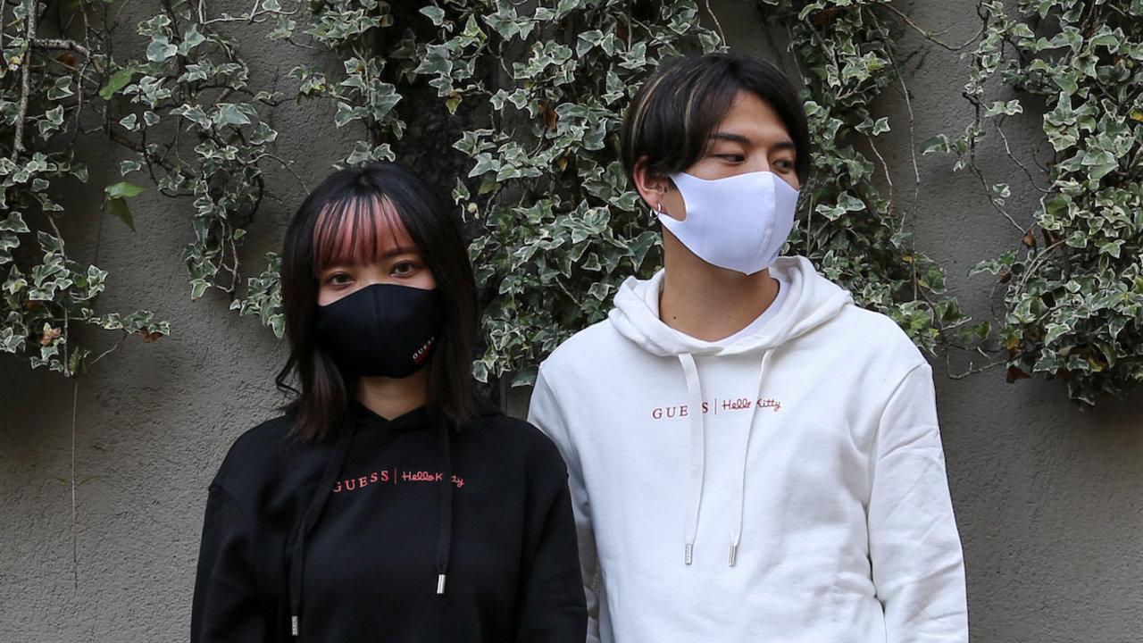 atmos×GUESSがコラボ!シンプルさが最高格好いい大人ストリート系な新作マスク