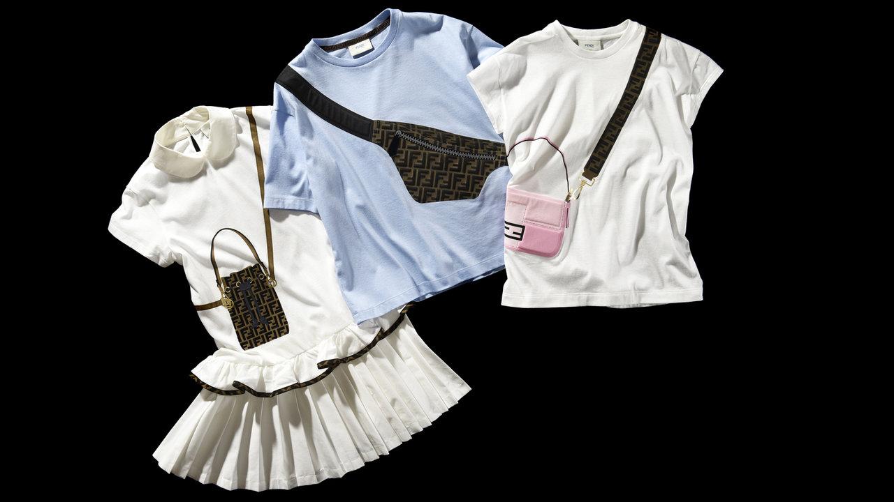ずっと永く愛せる服選びTHIS IS LOVE「フェンディのTシャツとワンピース」
