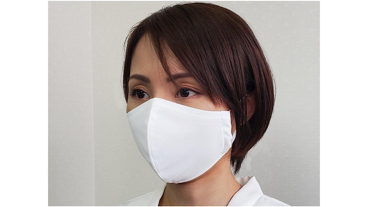 微粒子99%カット!1週間で1万枚完売したワイシャツ素材マスク改良版が登場!