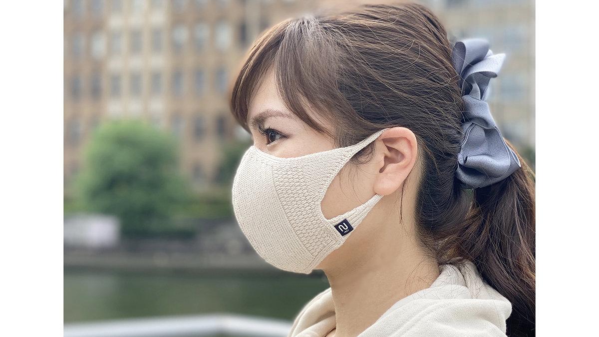 小顔効果も叶う!冬のウイルスから春の花粉まで口元ガードなニットマスク