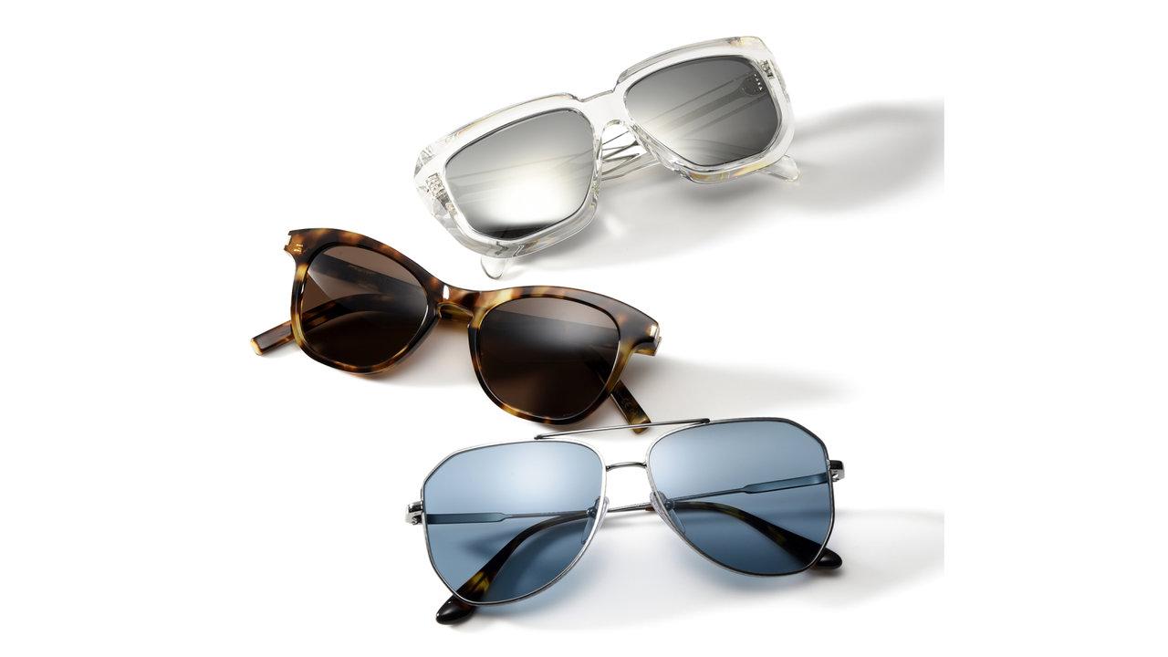EYEWEAR「シンプルなデザインを選べば、高級ブランドサングラスでもコテコテに見えません!」