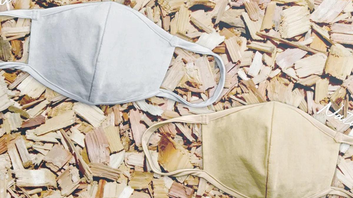 間伐材使用!機能性も医療レベル!地球に優しく毎日の健康を守るサステナブル布マスク