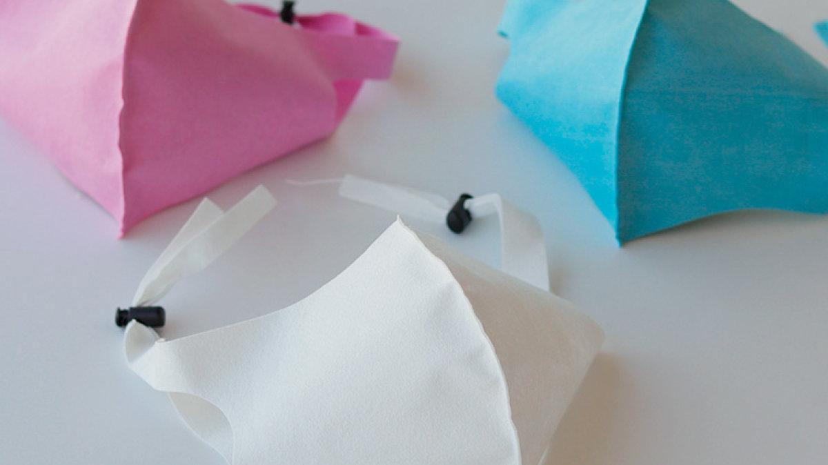 即完売した「おふろやさんがつくった、お風呂で洗えるマスク」が、新色追加で予約再開