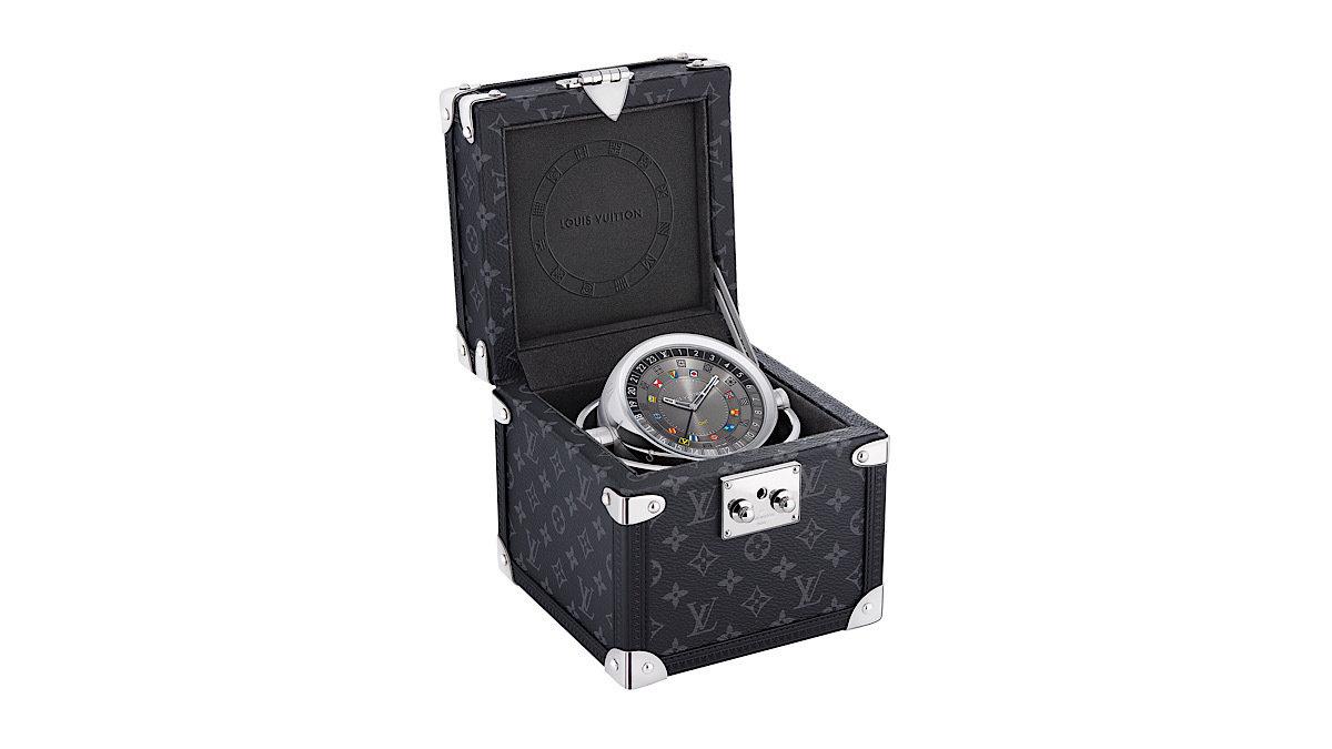 インテリアとして◎!ルイ・ヴィトンで一番小さいトランクケース!?開けてみると時計が!