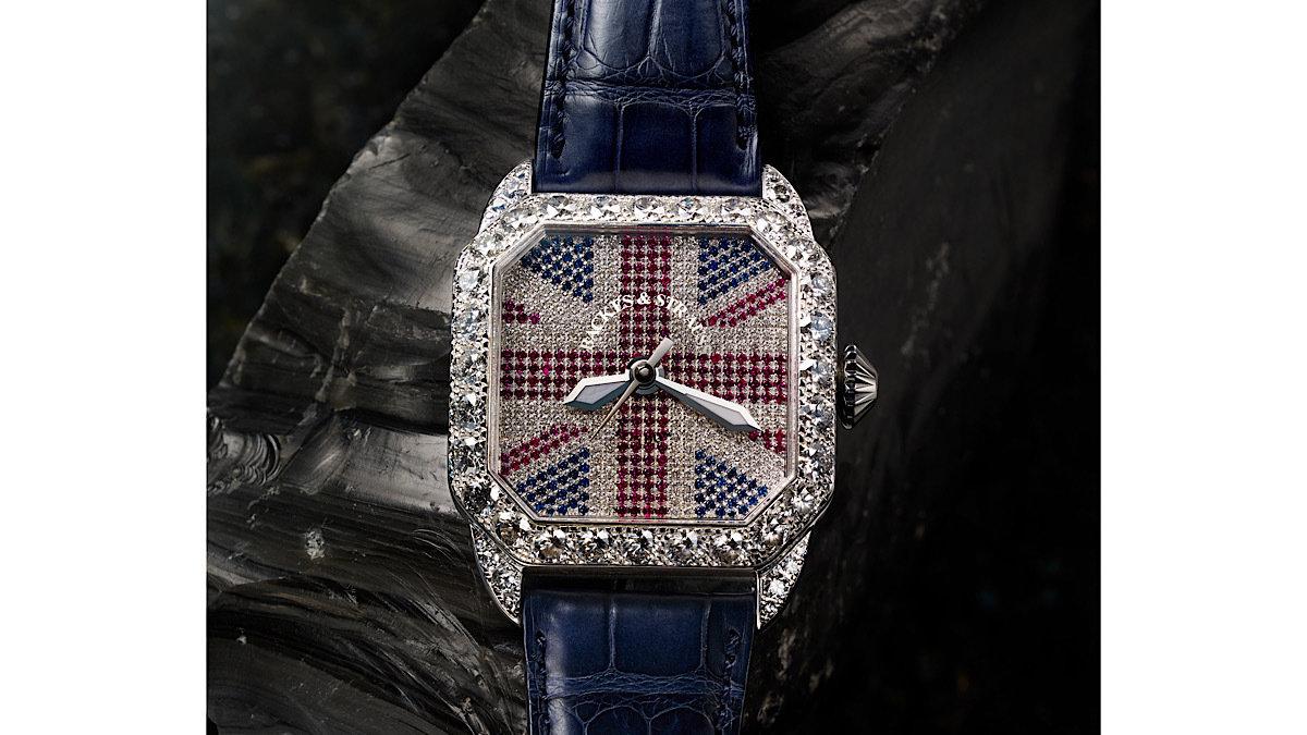 青山・骨董通りに、世界最古のダイヤモンドメゾンの究極な英国的キラキラ時計が登場