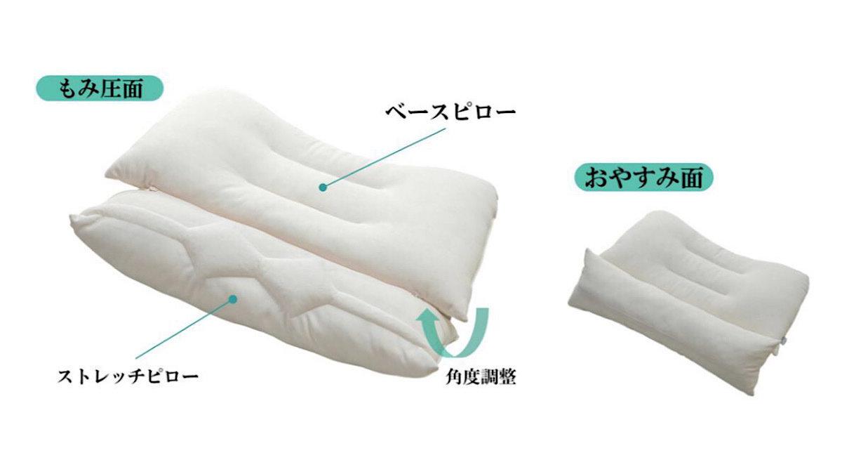 不安な時代に最高の快眠を約束!プロ鍼灸師「眠り落ち」の心地良い施術を再現した枕