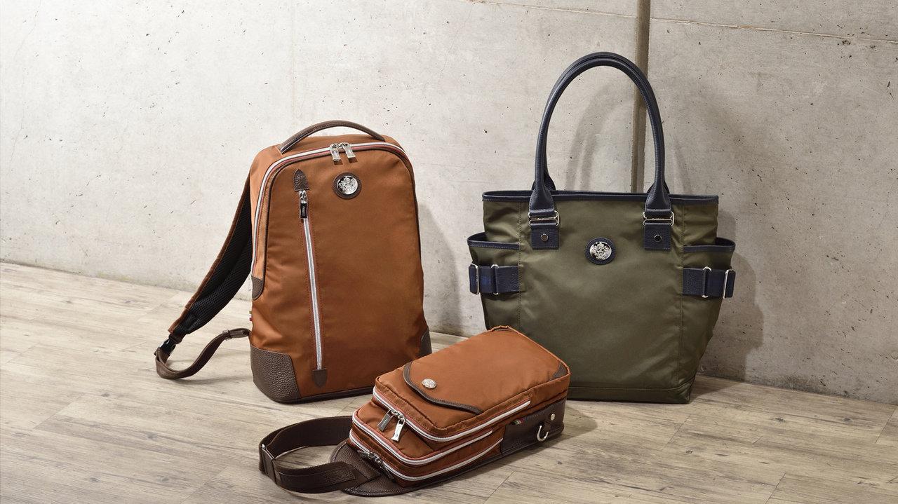大人のバッグは季節色が素敵♡オロビアンコのコレクションに、深みのある2色が登場
