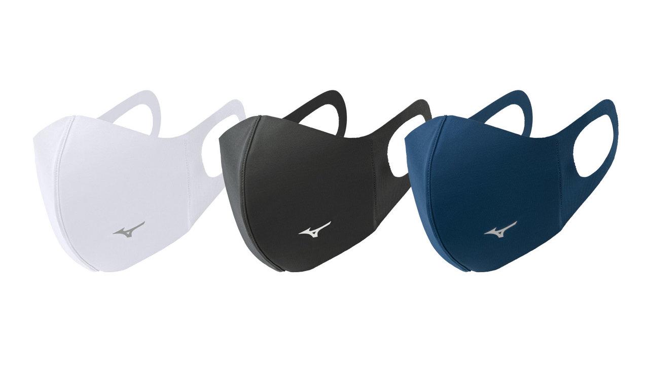 ミズノから独自の吸湿発熱素材「ブレスサーモ」を使用した冬用マスクが登場!