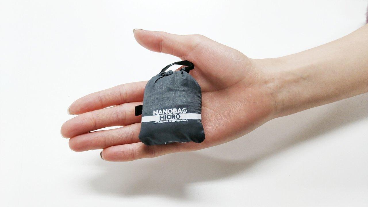 7万個も売れた極小エコバッグがさらに小さく⁉握れて、ポケットに入るサイズにバリエーション