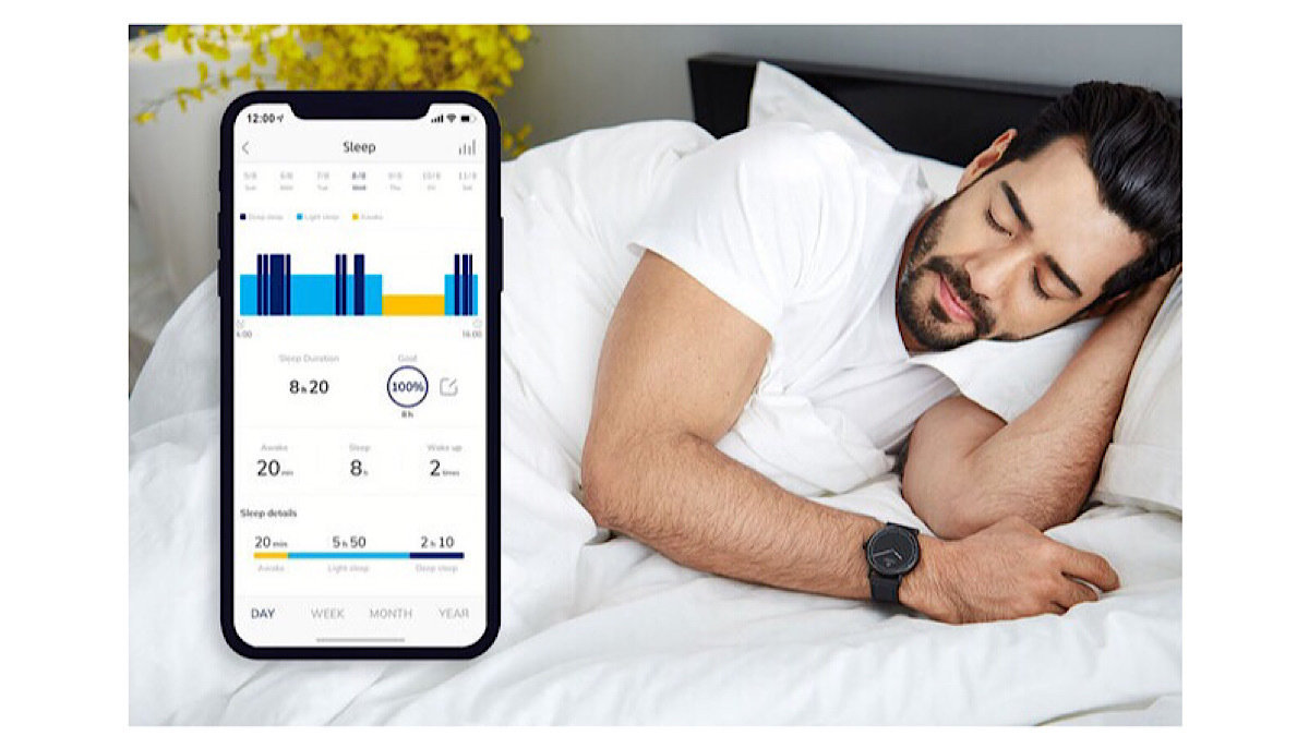 ホームトレーニングも睡眠チェックもおまかせ!最大6ヶ月間、充電不要のスマートウォッチ