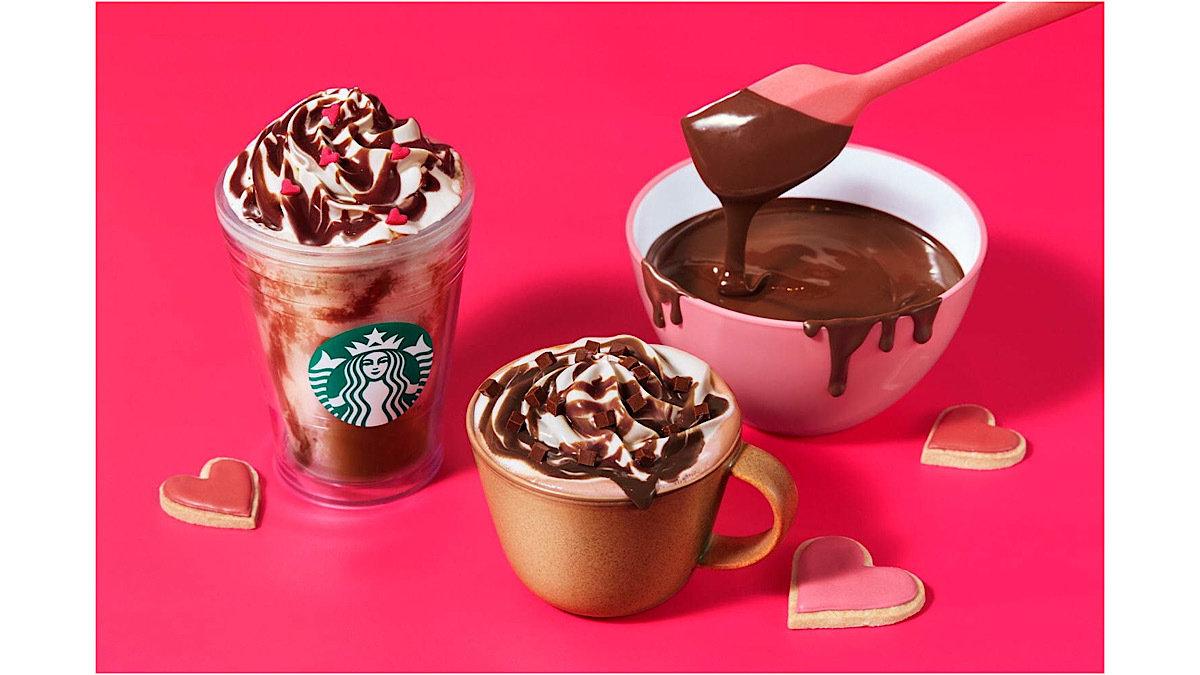 スタバのバレンタイン限定ドリンク&スイーツ♡チョコ好きのための濃厚な味わいがたまらない!