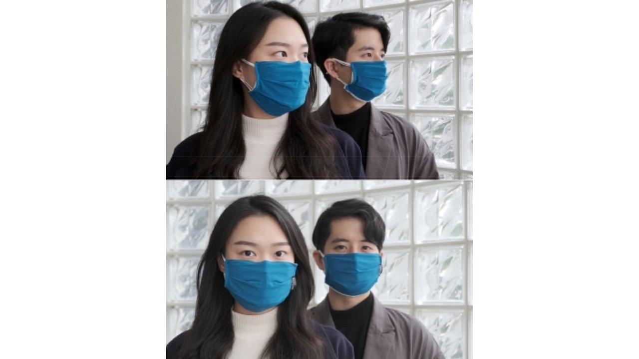 台湾政府の防護服を作ったメーカーの、ハイテク「マスクカバー」に注目