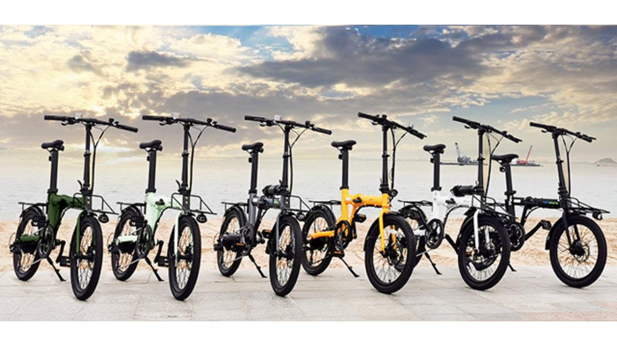 最大100kmの走行が可能!折りたたみ電動アシスト自転車