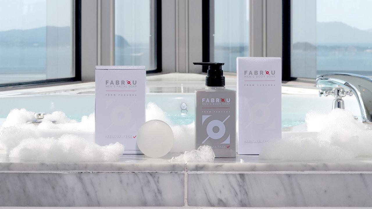日本固有の淡水藍藻類の美容成分を配合したメンズコスメブランド「FABROU」が誕生!