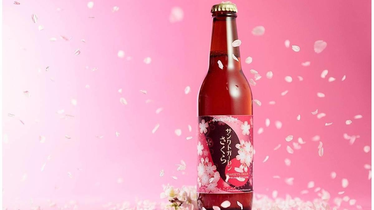 まるで桜餅!?新感覚のクラフトビールがおすすめ!
