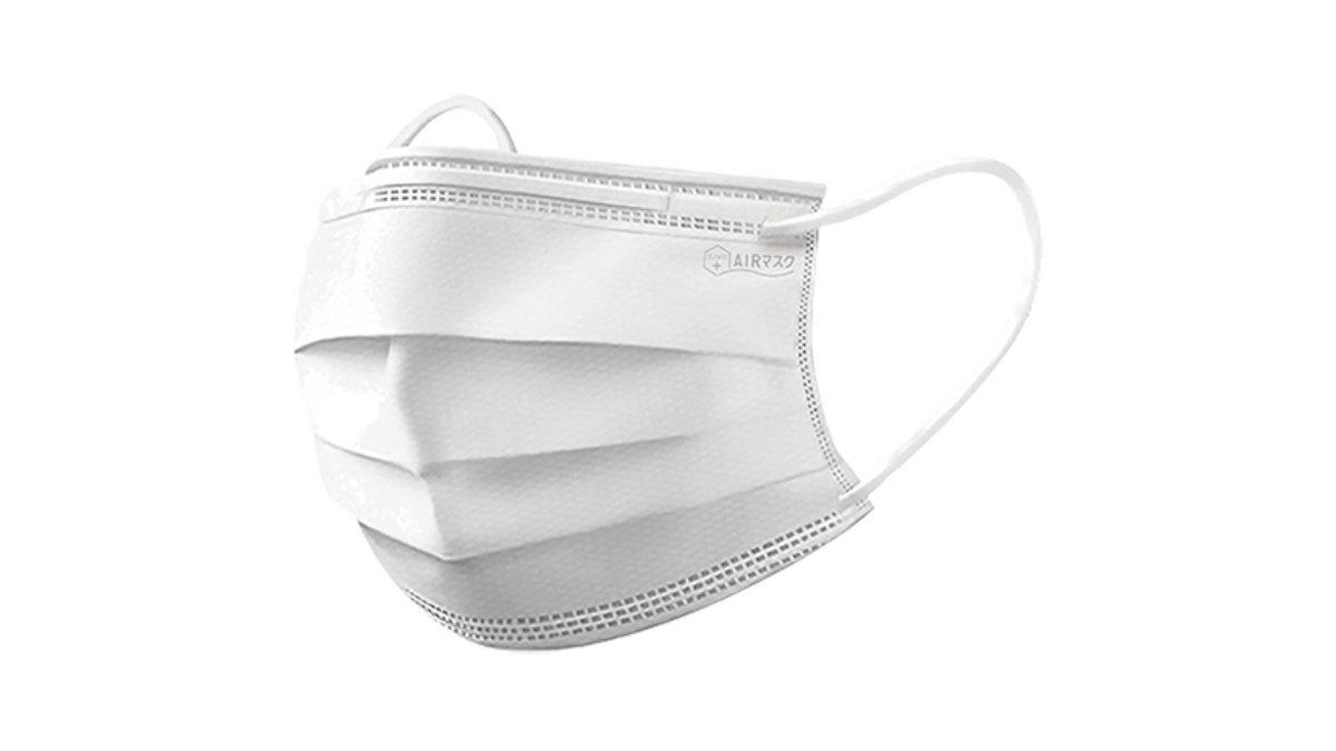 360万枚突破!医療用マスクN95規格レベルフィルターを搭載したマスク「ナノAG+AIRマスク」
