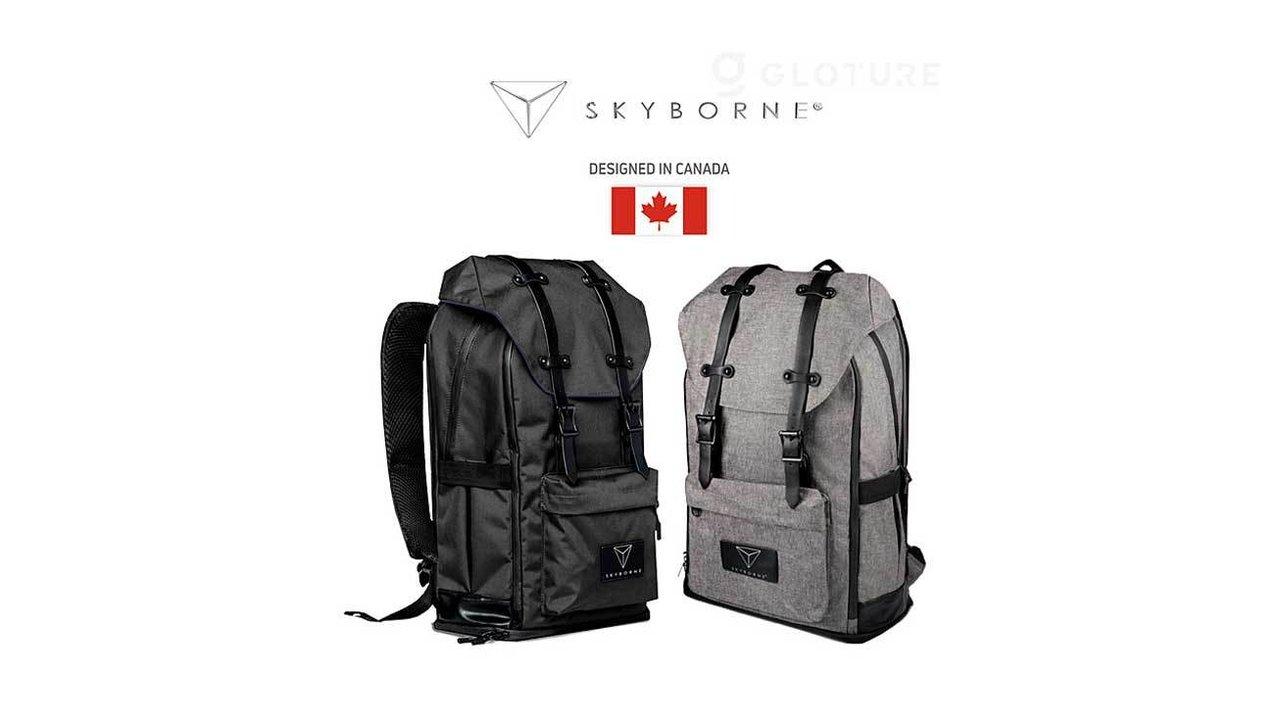 19のポケットにワイヤレス充電&徹底防水!超多機能なスマートバックパック「Smart-Pack」
