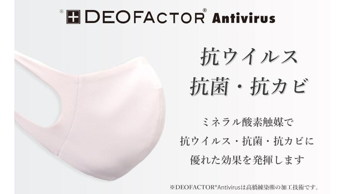 抗ウイルス×捕集率99%のハイテクマスクでウイルスを防ぐ!