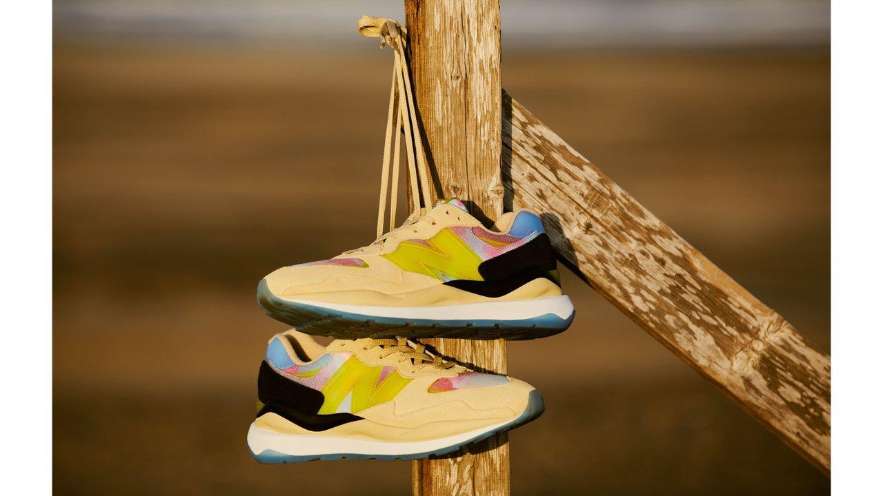 ニューバランスの新モデル「M5740」に、砂浜や夏のイメージを落とし込んだ新作スニーカー!