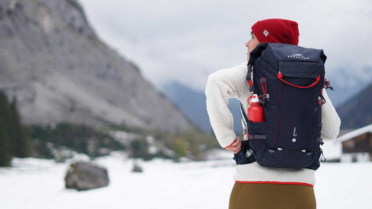 NORDKAMMバックパックの新ラインアップ。日帰り登山にもちょうどいい30L・40Lサイズ