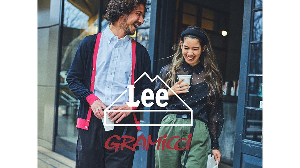 Leeの歴史ある名品に、GRAMICCIの機能がコラボレーション