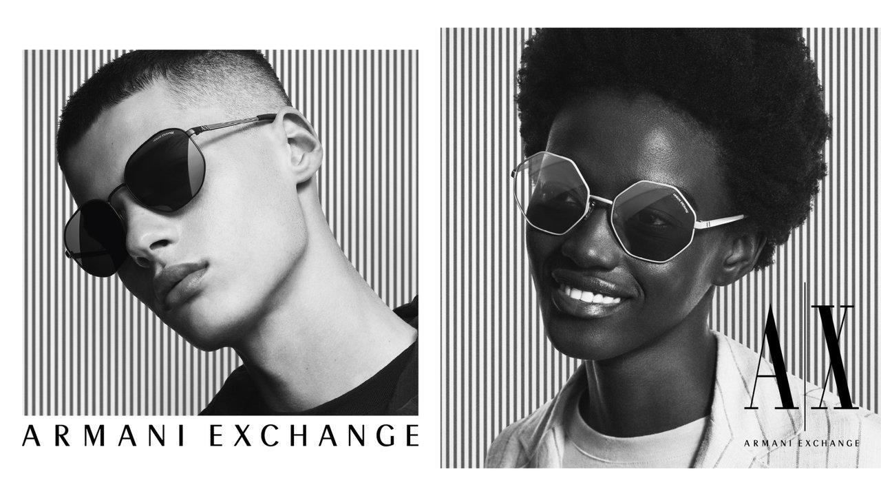 「A|Xアルマーニ エクスチェンジ」最新コレクションはマスクとの相性も考えられたサングラス