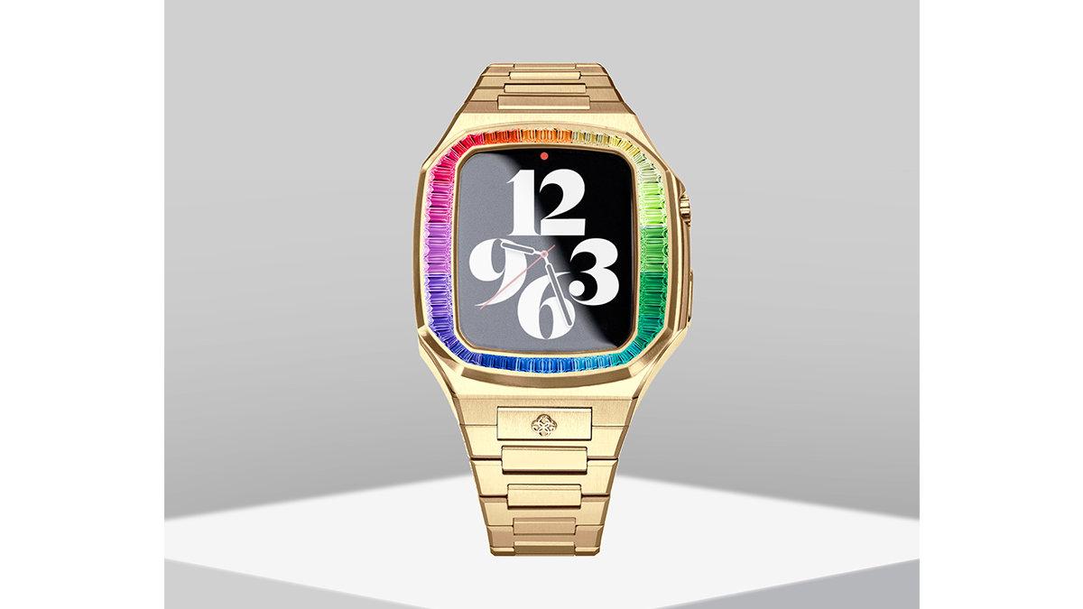 アップルウォッチが高級感のある腕時計に!ネジを止めるだけで簡単に装着できるケース