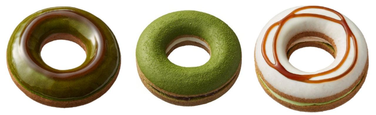 ミスタードーナツと宇治茶専門店「祇園辻利」が共同開発!和素材をテーマにした全7種類