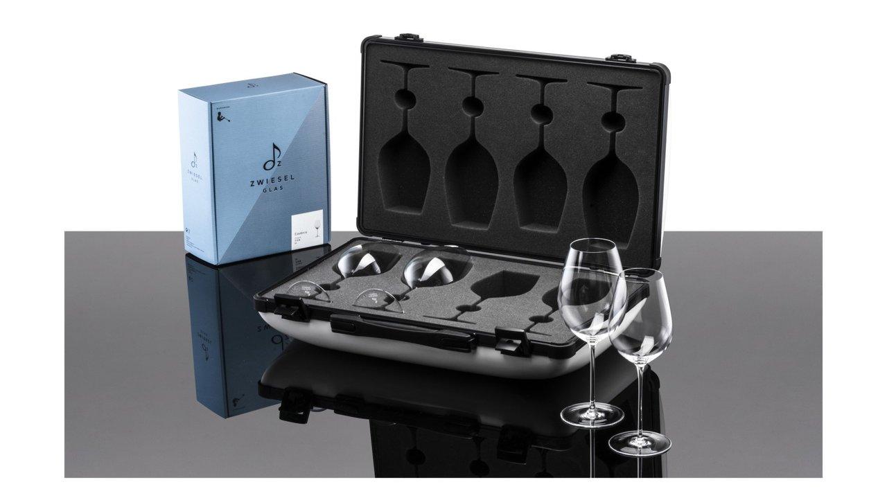 日本限定10セット!ハンドメイドのワイングラスが入ったケース、ギフトコレクション