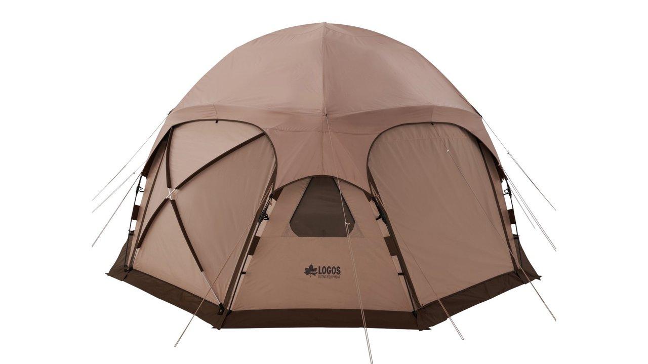 たった5分で組み立て完了!連結もできるロゴスの大型ドーム型テント