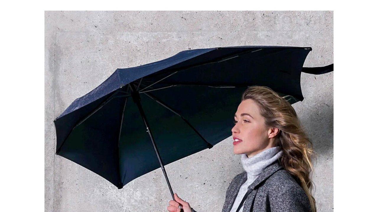 風速100km/hの暴風に耐える!日傘としても使える折り畳み傘