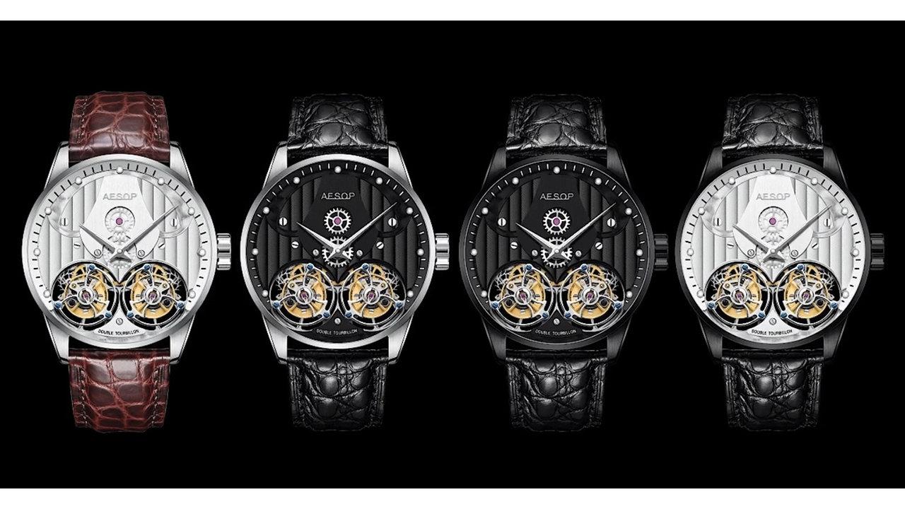 巧緻を極めた芸術品のような美しさを持つ腕時計。ダブルトゥールビヨンの日本限定モデル