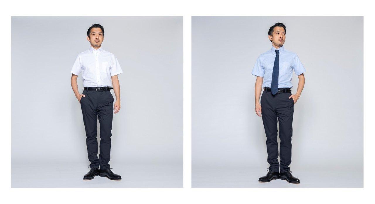 初回生産分は即完売!大人気「究極のワイシャツ」シリーズの半袖シャツ