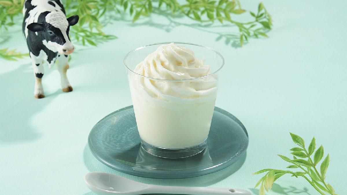 【実食レポ♡】ローソン×生クリーム専門店MILKのパンナコッタは、ホイップ&練乳で超濃厚