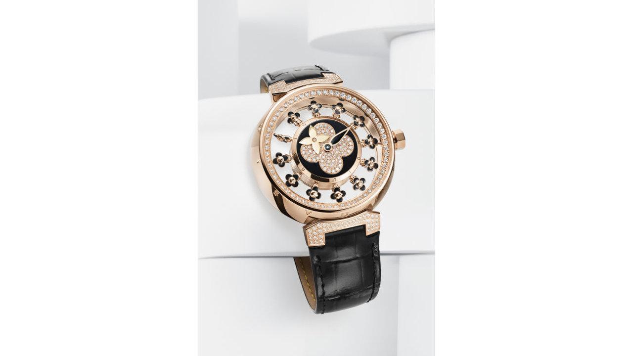 ルイ・ヴィトンのヴィヴィエンヌが時計に!「タンブール スピン・タイム エアー ヴィヴィエンヌ」