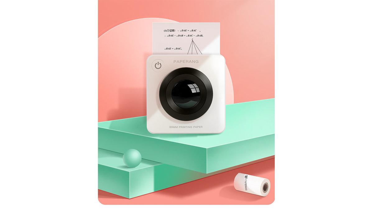 紙派のアナタに贈りたい。超コンパクトなプリンター「PAPERANG P3」